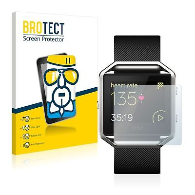 Fitbit Blaze Smart Watch, BROTECT® AirGlass® Premium Glass Screen Protector