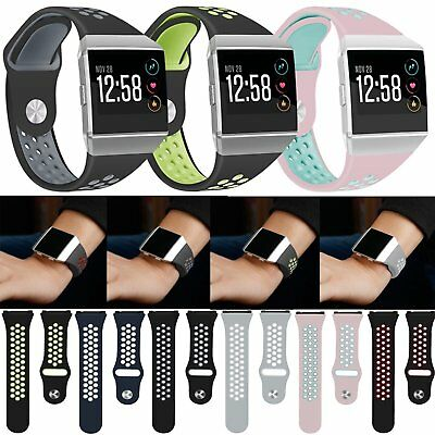Replacement Silicone Sport Wristband Strap Bracelet for Fitbit Ionic Smart Watch