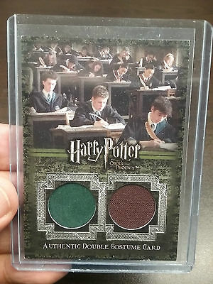 Harry Potter Order Of The Phoenix Double Costume Card Number 6/295