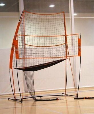 Bownet 11' x 8' Portable Volleyball Hitting Practice Station with Practice Net