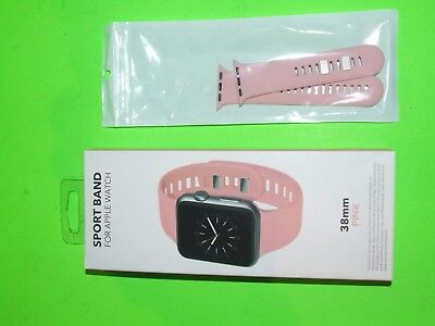 Genuine Apple Watch 38mm Sports Band ! BestBuy Official Brand ! Open Box ! PINK
