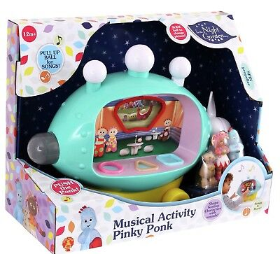 Pinky Ponk Musical Activity - In The Night Garden And Shape Sorter Free Postage
