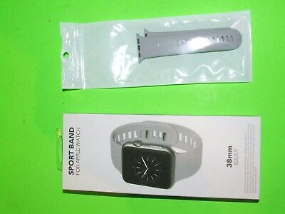 Genuine Apple Watch 38mm Sports Band ! BestBuy Official Brand ! Open Box ! GRAY