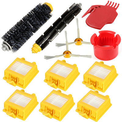 12Pcs 3 armed Side Brush Filters Clean for iRobot Roomba 700 Series 760 770 780