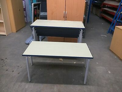 RECLAIMED CHILDREN'S STACKING TABLES, SCHOOL, INFANT, PLAY, CLUB etc