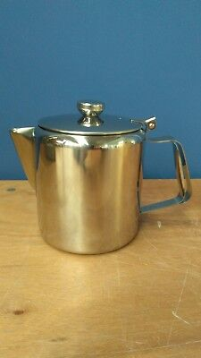 Neville 1.5 Litre Stainless Steel Coffee Pot, Teapot Ideal for Cafes, B&B etc