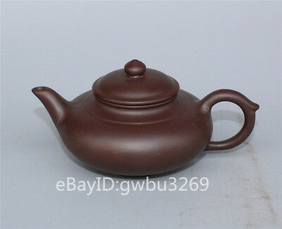 Marks Chinese Exquisite Yixing Zisha Teapot Handwork Carved Kung fu Teapot