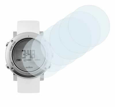 Suunto Core Alu Pure White Watch, 6x Transparent ULTRA Clear Screen Protector