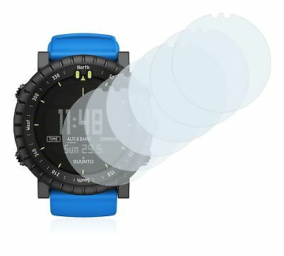 Suunto Core Blue Crush Smart Watch, 6x Transparent ULTRA Clear Screen Protector