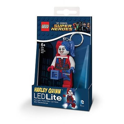 Lego DC Super Heroes Harley Quinn Key Light - Brand New!