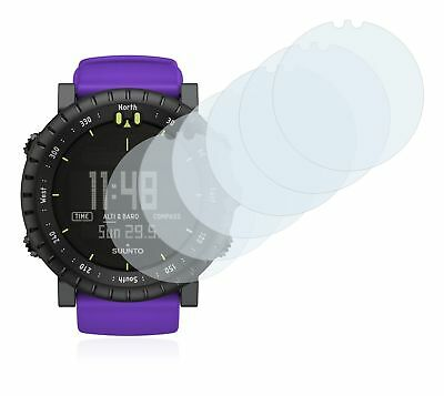 Suunto Core Violet Crush Smart Watch 6x Transparent ULTRA Clear Screen Protector