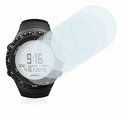 Suunto Core Regular Black Watch, 6 x Transparent ULTRA Clear Screen Protector
