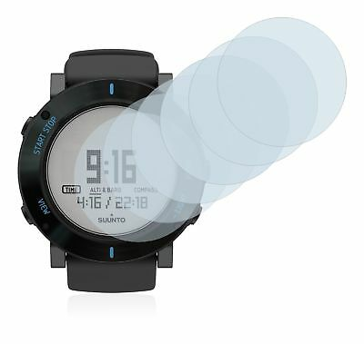 Suunto Core Graphite Crush Watch, 6 x Transparent ULTRA Clear Screen Protector