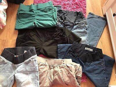 Bundle Of Maternity Jeans/trousers Size 8