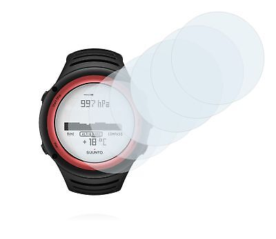 Suunto Core Lava Red Smart Watch, 6 x Transparent ULTRA Clear Screen Protector