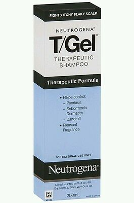 Neutrogena T/Gel Therapeutic Shampoo 200ml - OzHealthExperts