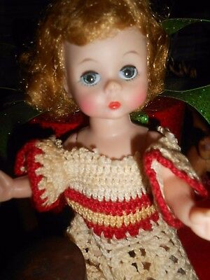 "Madame Alexander-Kins 8"" BKW Mommy Made Dress Adorable Wendy Face"