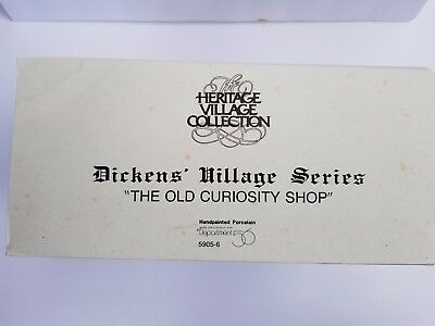 Dept 56 Dickens Village Series The Old Curiosity Shop 5905-6