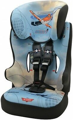 New Disney Planes Racer High Back Booster Carseat 1-10yrs