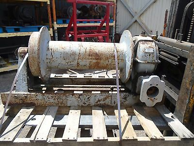 Braden Winch Hydraulic Model AMS10-23A - 30000lbs Capacity ONLY Missing Motor