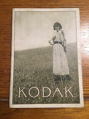 Original 1921 Kodak Catalogue Kodaks and Kodak Supplies