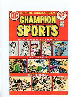 Champion Sports #1 (Oct-Nov 1973, DC) First Issue