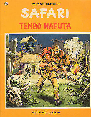 SAFARI 21 - TEMBO MAFUTA - Willy Vandersteen