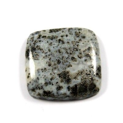 27.80 cts Excellent Rare Natural Fossil Pyrite Cushion Loose Gemstone Cabochon