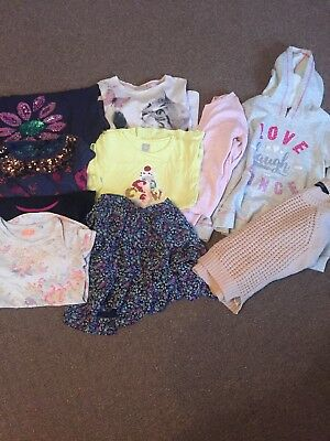 Girl Bundle 10 Items Ages 9-10 NEXT & M&S