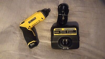 Dewalt 8V MAX Gyroscopic Screwdriver DCF680 with Battery & Charger