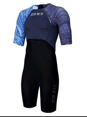 ZONE3 MEN'S WTC LEGAL SCHWIMMANZUG SWIMSKIN – KONA EDITION Gr. L TRIATHLON