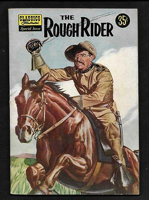 Original Classics Illustrated Special Issue-The Rough Rider- Vf-1957-