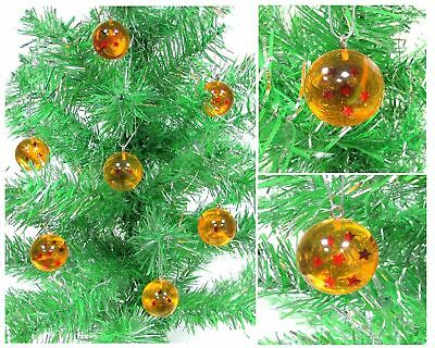 Dragon Ball Z Christmas Ornaments Set 7 Wish Granting Dragon Ball Z Spheres.....
