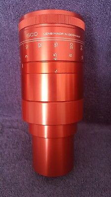 Isco Scope 35mm Movie Projector lens