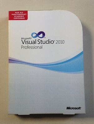 MS Visual Studio 2010 Professional Vollversion deutsch AE neu