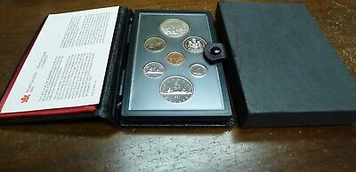 1980 Proof Set Canada! 7 Coins with Box and Paperwork!