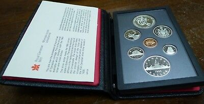 1983 Proof Set Canada! 7 Coins with Paperwork!