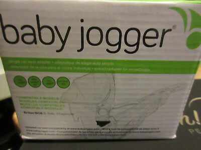 Baby Jogger Single Stroller Car Seat Adapter Mounting Bracket Britax
