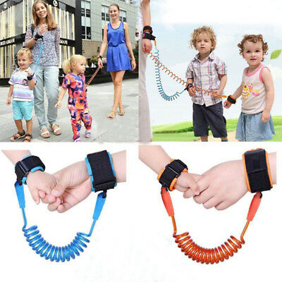 Kids Toddler Baby Safety Anti Lost Wrist Link Strap Harness Leash Hand Belt Rope