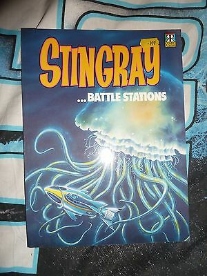 Stingray Battle Stations. 1992. Gerry Anderson. Rare.