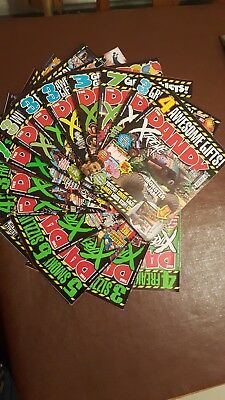 Job lot Dandy Extreme comics x 14 consecutive May-November 2008