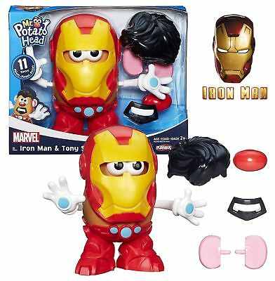 Brand New - Mr Potato Head Iron Man & Tony Stark - Playskool Marvel
