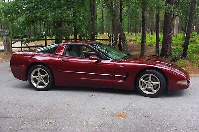 2003 Chevrolet Corvette Leather with 50th Anniversary Emblems i 2003 corvette 50th anniversary
