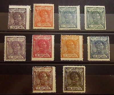 ELOBEY Spanish Colonies Spain Stamps Set  - Mint MH / MNH - r45e4493