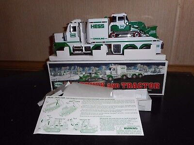 2013 Hess Toy Truck And Tractor New Condition