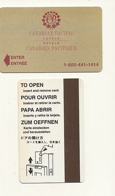 CANADIAN PACIFIC HOTELS---Canada--Room key--K-55