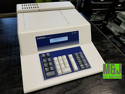 Maverick International M610 Check Encoder Machine MICR