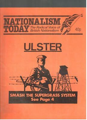 NF BNP - 1980s NATIONALISM TODAY # 21 - John Tyndall - Not Mosley BUF UM