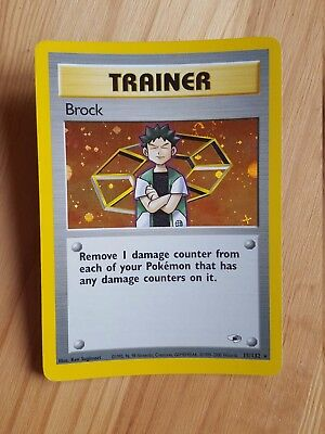 TRAINER Btock  15/132 - HOLO - Gym Heroes (eng)   (a1055)