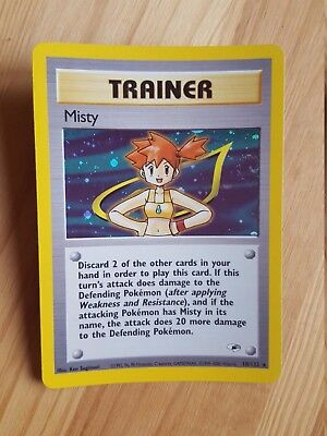 TRAINER Misy  18/132 - HOLO - Gym Heroes (eng)   (a1054)